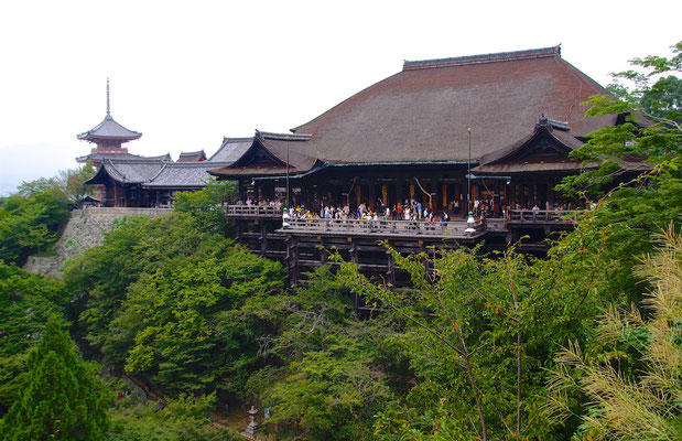 Kiyomizu-dera Tempel in Kyoto
