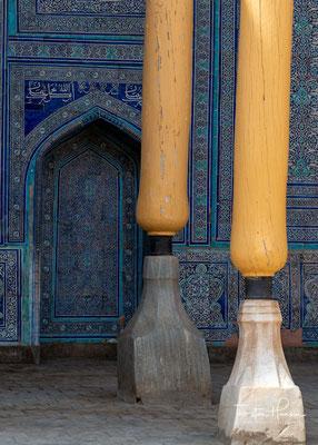 In der Zitadelle waren die Moschee des Khans, die Residenz, das oberste Gericht, der Empfangsbereich Kurnysh Khan, die Pulvermühle, das Arsenal, der Münzhof, die Kanzlei, der Harem, die Küche, Pferdeställe und die Hauptwache untergebracht.
