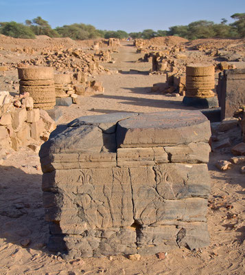 Königliche Stadt in Meroe