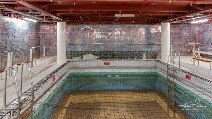 Indoor Swimming Pool der SS Rotterdam