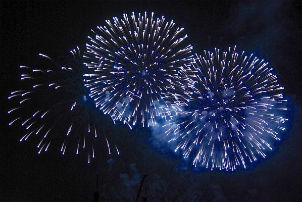Hi-Festival Feuerwerk in Seoul