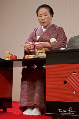 Teezeremonie im Gion Corner