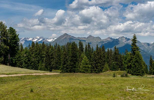 Geografisch befindet man sich jetzt in den Dolomiten...