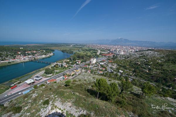 Die Burg Rozafa in Shkodra