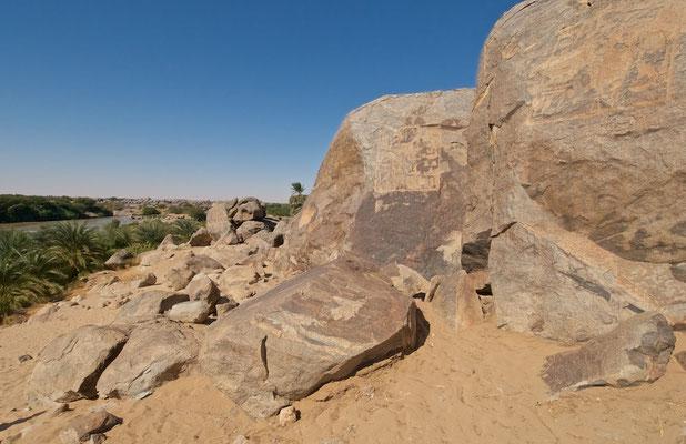 Tumbus Steinbruch im Sudan