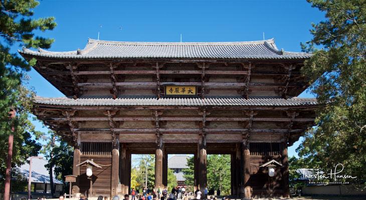 Nandaimon Tor in Nara
