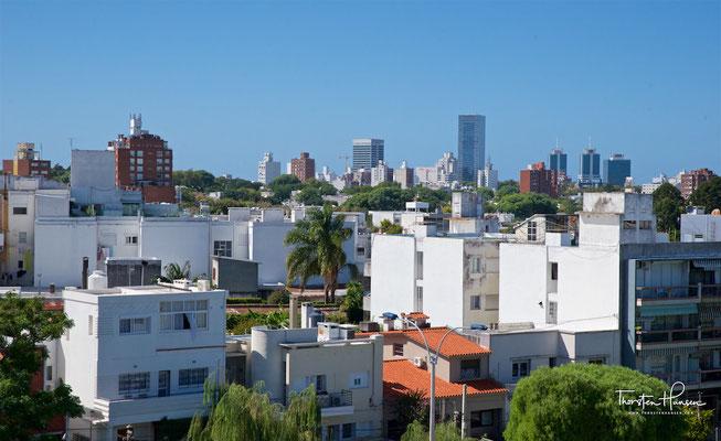 Blick über Montevideo vom Stadium aus