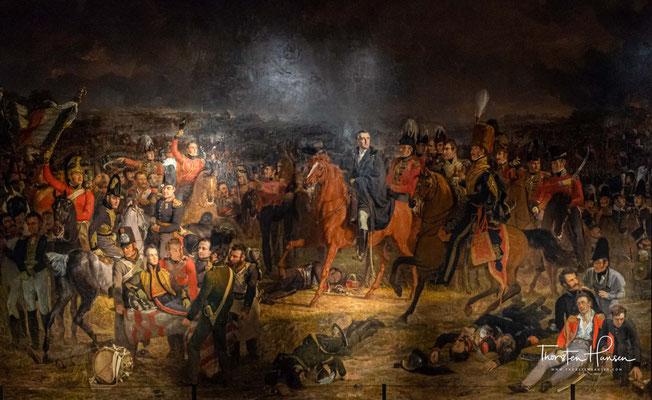 Die Schlacht von Waterloo 1824 von Jan Willem Pieneman
