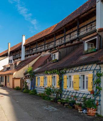 Die Stadtmauer der Stadt Nördlingen zählt zu den herausragenden Denkmälern Deutschlands,