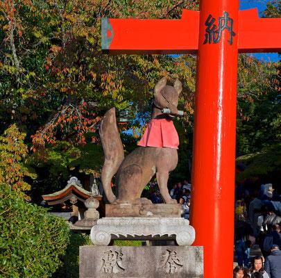 Fushimi Inari-Taisha Schrein in Kyoto