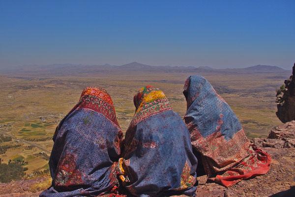Ausblicke in Schibam Kaukaban