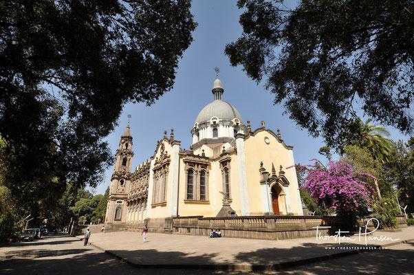 Dreifaltigkeitskirche in Addis Abeba