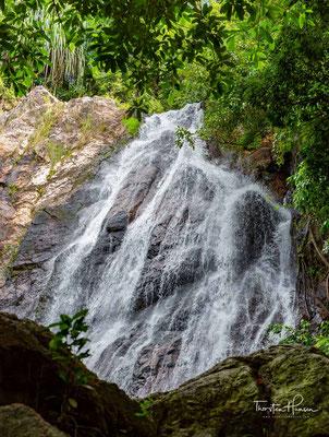 Namuang-Wasserfall auf Ko Samui