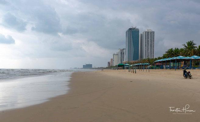 Der Strand von Đà Nẵng