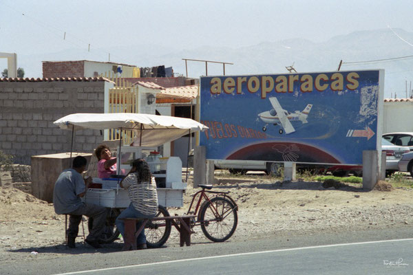 Flug über die Nasca Linien in Peru