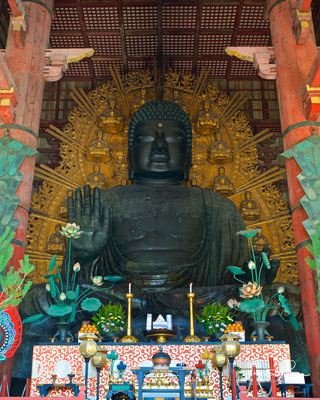 Daibutsu im Todai-ji in Nara