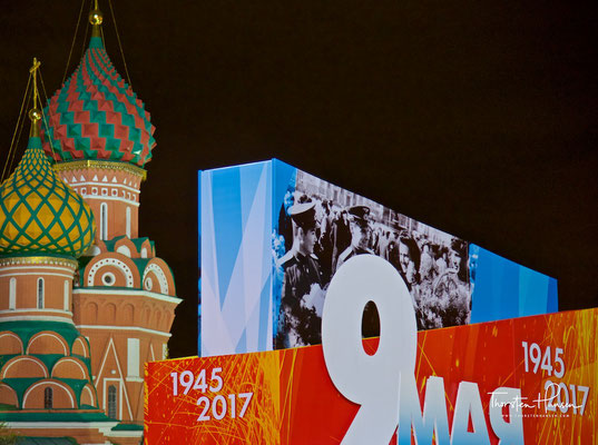 9. Mai - Tag des Sieges in Moskau