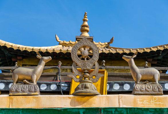 Der Buddhismus in der Mongolei ist ein tibetisch geprägter Buddhismus