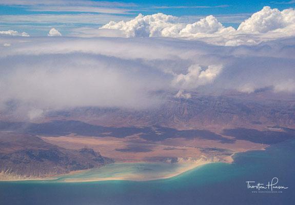 Anflug auf die Insel Sokotra