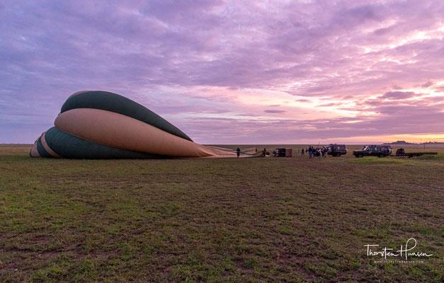 Serengeti Balloon Safaris - Die Pioniere des afrikanischen Himmels