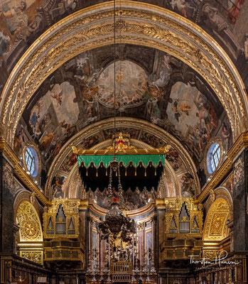 Die Kirche wurde zwischen 1573 und 1578 von den Maltesern errichtet