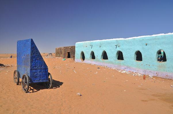 Autobahnraststätte im Sudan