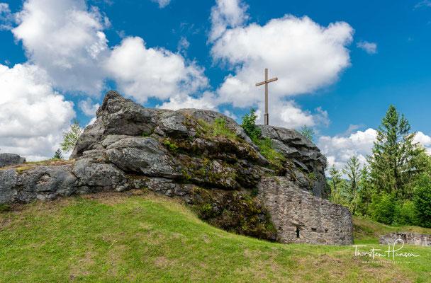 Dazu gehören ein Stück der Ringmauer sowie ein Schalenturm aus dem 15. Jahrhundert, welche restauriert wurden.
