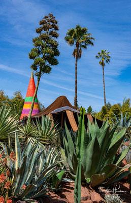André Hellers Garten Eden ist sicherlich inszeniert, doch spüren tut man das kaum. Der Anima Garten ist ein Genuss für die Sinne.
