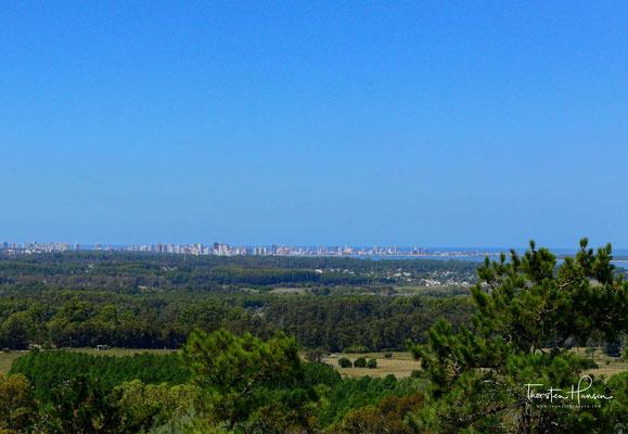 Blick auf die Skyline von Punta del Este