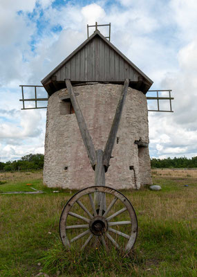 Bockwindmühlen auf Gotland