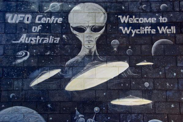 UFO Capitel Wycliffe Well