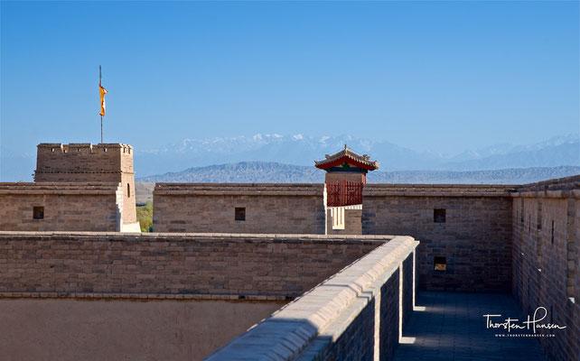 Jiayuguan – das westliche Ende der Chinesischen Großen Mauer