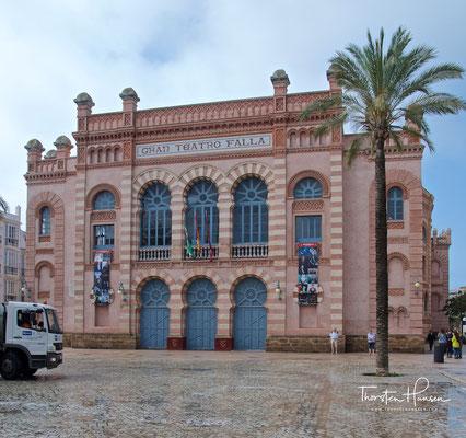 Gran Teatro Falla in Cadiz