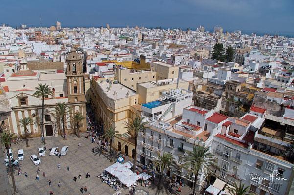 Blick über Cadiz von der Kathedrale aus