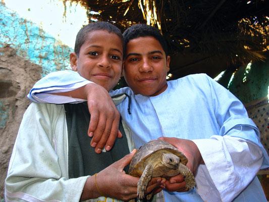 Zu Besuch bei Familie Ibrahim Ali Gibali aus Abu Sad