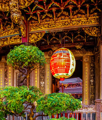 Während der Qing-Dynastie wanderten viele Han-Chinesen aus Fujian und Guangdong nach Taiwan ein.