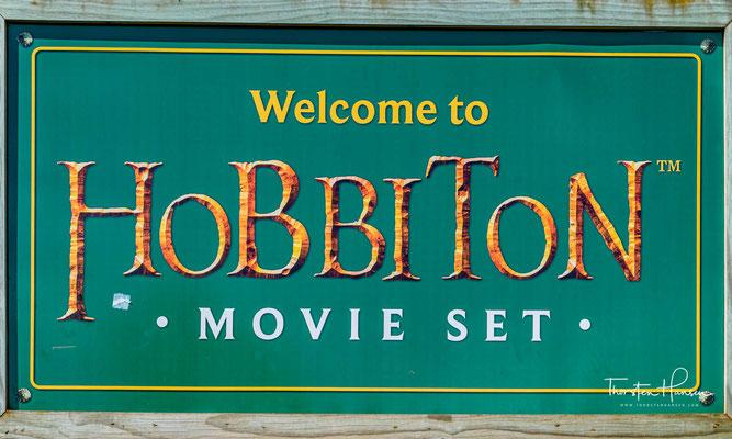 """Das Hobbiton-Filmset war ein bedeutender Drehort für die Filmtrilogien von """"Herr der Ringe"""" und """"Der Hobbit"""""""