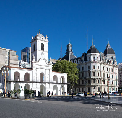 Das alte Rathaus in Buenos Aires