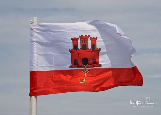 Flagge von Gibraltar