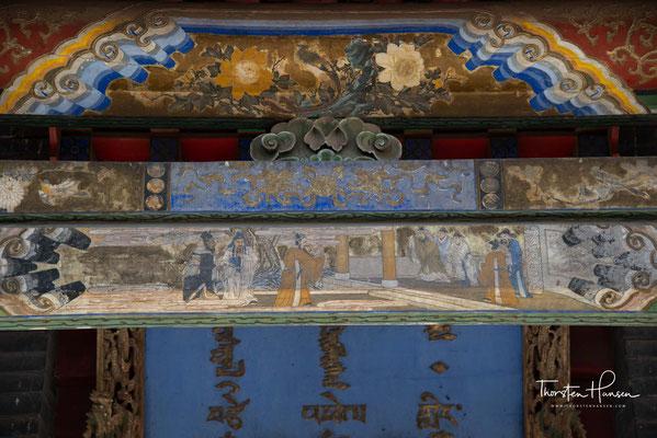 m Haupttempel ist die Mumie des Baldanchoimbel, des Lehrers des Tschojdschin Lama, zu sehen.