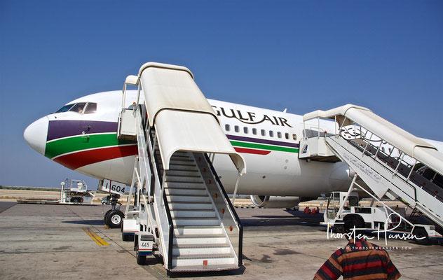 Ankunft im Oman