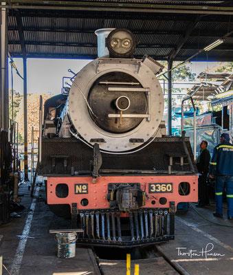 Dampflokomotive Tiffany aus dem Jahre 1893