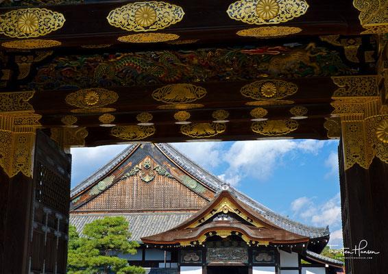 Die Burg Nijō (jap. 二条城, Nijō-jō) ist eine japanische Burganlage und ehemaliger Sitz des Shōguns in Kyōto