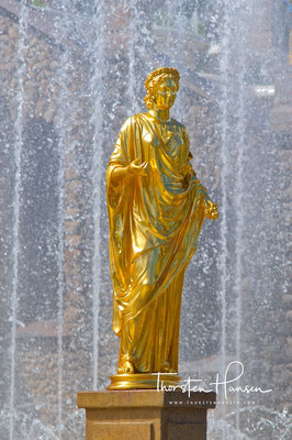 Wasserspiele im Peterhof