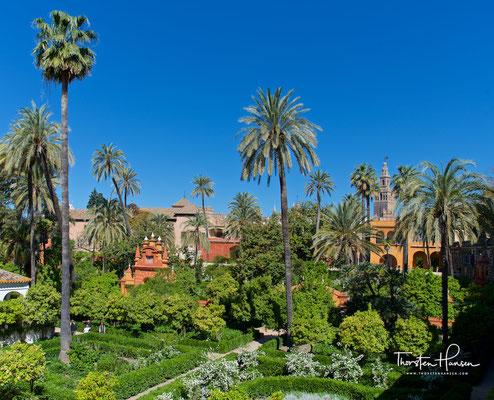 Gärten von der Galeria del Grutesco aus gesehen
