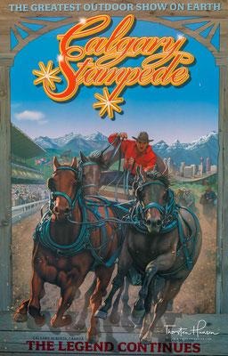 Die Calgary Exhibition and Stampede ist eine jährlich stattfindende, zehntägige Landwirtschafts-Ausstellung in der kanadischen Stadt Calgary.