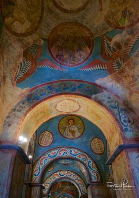 Die Kathedrale war Mittelpunkt des kulturellen und politischen Lebens des altrussischen Volkes. Hier fanden unter anderem die Thronbesteigungen der Kiewer Fürsten statt