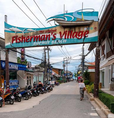 Fishermans Village - eine der touristischen Hochburgen auf Ko Samui