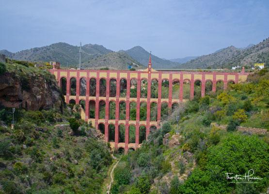 Das Aquädukt del Aguila wurde im 19. Jahrhundert erbaut