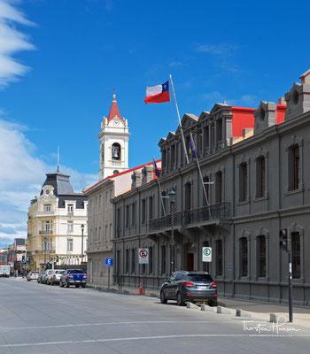 Hauptstrasse in Punta Arenas